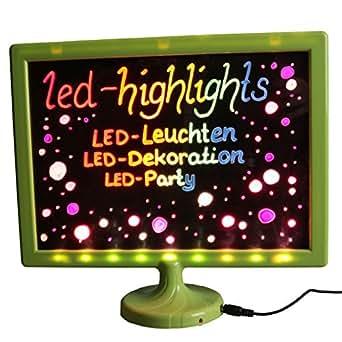 LED para niños con diseño de pizarra, pizarra para los niños ...