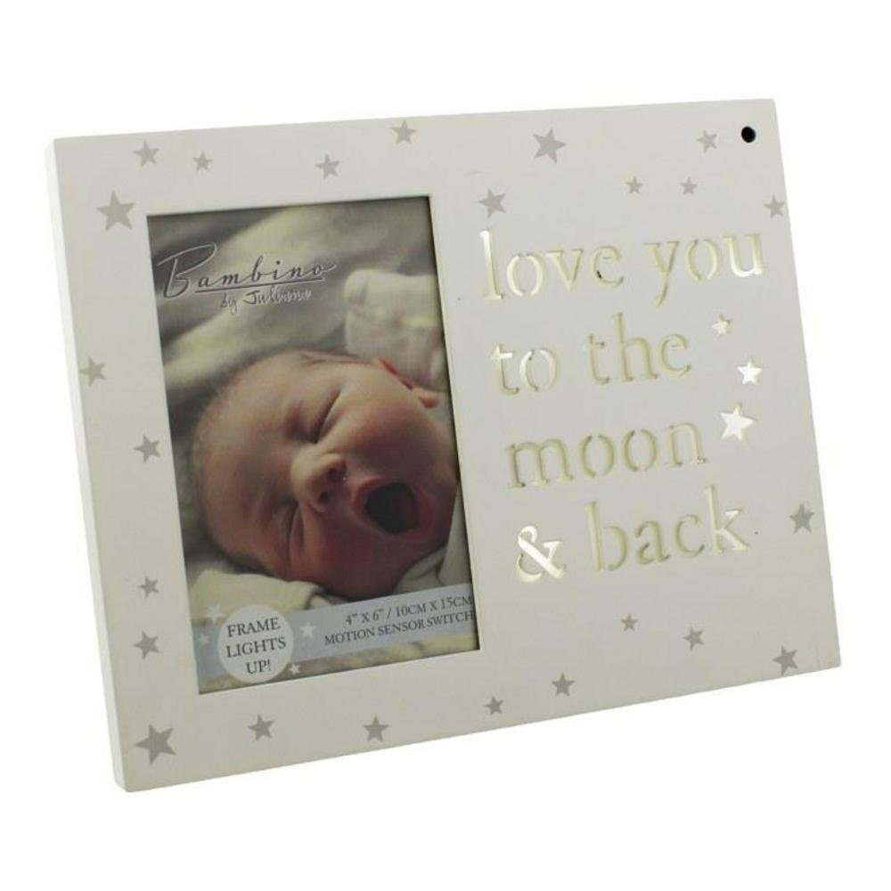 ukgiftstoreonline Baby Photo Frame Light Up Love You To The Moon ...