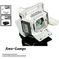 AWO RLC-055 RLC-056 RLC-058 Premium Replacement Projector Lamp Bulb with Housing for VIEWSONIC PJD5122 PJD5152 PJD5352 PJD5231 PJD5211 PJD5221