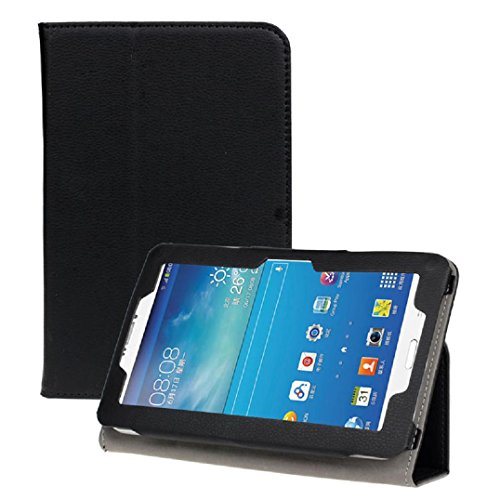 Price comparison product image For Android Tablet PC ,Saingace Portable Carry Protective New 7 inch Universal Leather Stand Case Cover (Black)