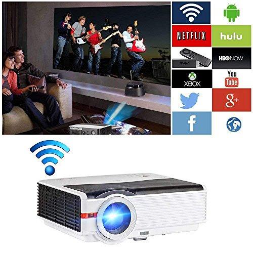 Video Projector WiFi Wireless