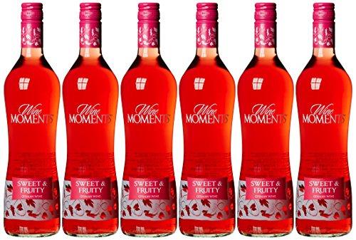 Wine Moments Roséwein süß und fruchtig Qualitätswein b. A. (6 x 0.75 l)