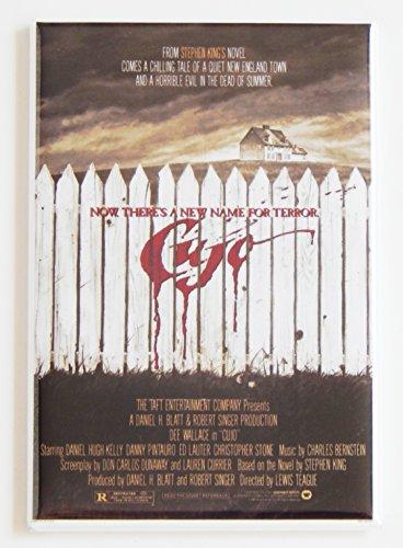 Cujo Movie Poster Fridge Magnet (2 x 3 inches)