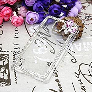 Mini - Diamond Butterfly Back Cover Case for SAMSUNG Galaxy S5 I9600