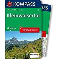 Kleinwalsertal: 2in1 Wanderführer mit Extra-Tourenkarte 1:25.000, 35 Touren, GPX-Daten zum Download (KOMPASS-Wanderführer, Band 5674)