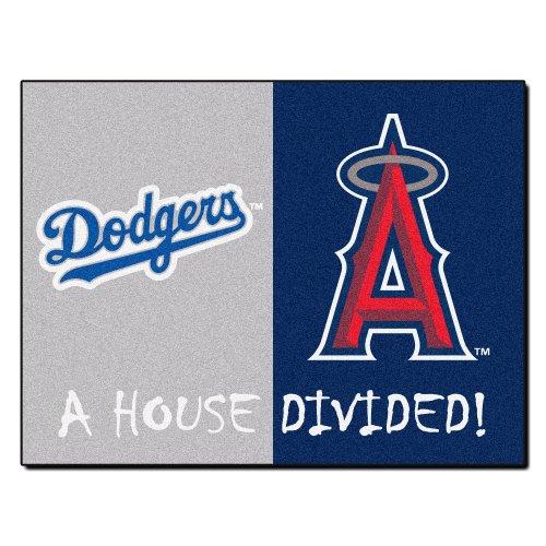 (FANMATS MLB House Divided Nylon Face House Divided Rug)