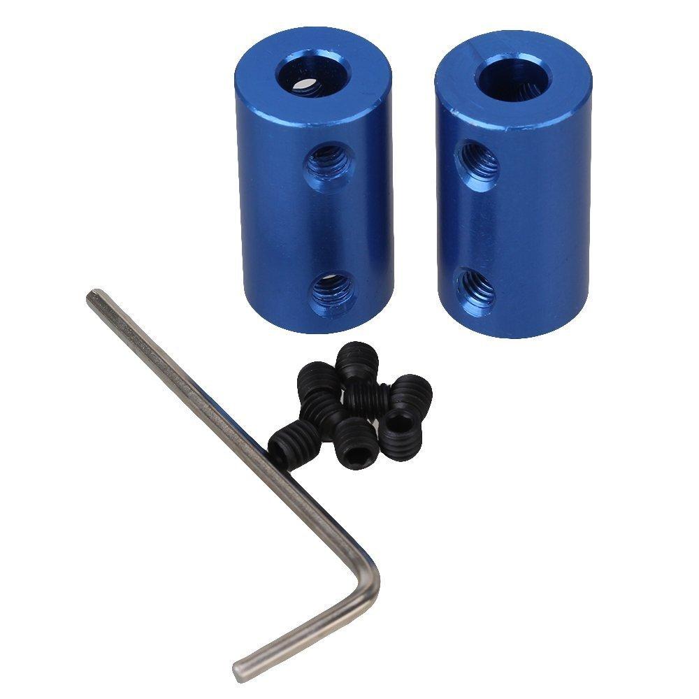 Cnbtr blu albero rigido motore ruota accoppiamento accoppiatore blu in lega di alluminio 6–6mm 2PCS/lotto D14L25