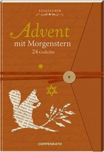 Briefbuch Advent Mit Morgenstern 24 Gedichte Amazonde