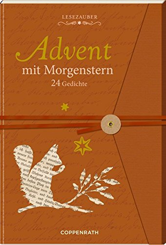 Briefbuch – Advent mit Morgenstern: 24 Gedichte