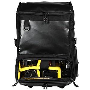 GUD ULTIMATE DSLR Camera Backpack, Laptop Edition, Black