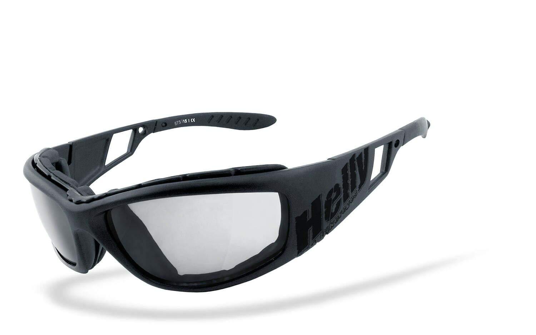 Sportbrille Helly/® selbstt/önende HLT/® Kunststoff-Sicherheitsglas nach DIN EN 166 winddicht No.1 Bikereyes/® beschlagfrei Bikerbrille Motorradbrille