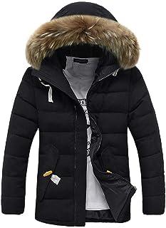 Oyedens Cappotto Uomo Invernale Felpa da Uomo Felpa Tumblr Casuale Sweatshirt Pullover Moda Magliette Manica Lunga Maglione Giacca Winter Hooded Pocket Thickening Coat Outwear Tops Blouse