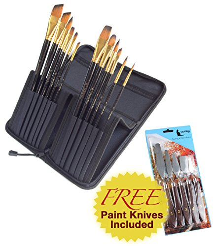 12-piece-paint-brush-set-for-oil-acrylic-paints-includes-free-5-piece-painting-knife-set-synthetic-a