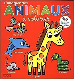 Coloriage Maternelle L Imagier Des Animaux A Colorier Des