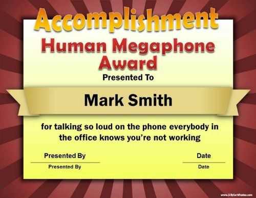 Funny certificate awards pasoevolist funny certificate awards yadclub Choice Image