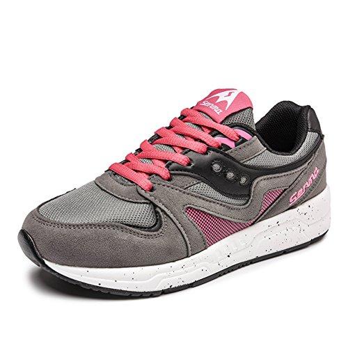 Verano ocio Coreano zapatos mujeres/tendencia de cordones zapatillas/Zapato del plano/Zapatos de malla A