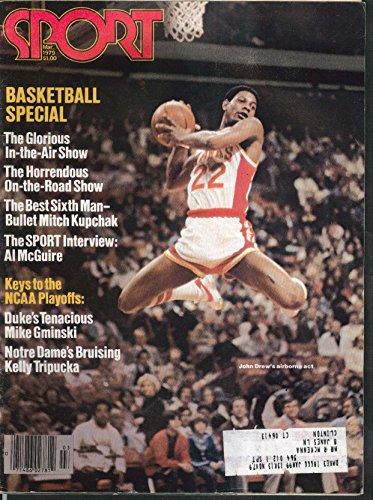 SPORT John Drew Mitch Kupchak Al McGuire Mike Gminski Kelly Tripucka + 3 1979 (John Mcguire)