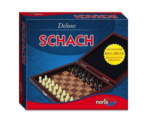 Noris Spiele 606108005 - Deluxe Reisespiel Schach