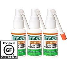 Dr. Harold Katz TheraBreath Fresh Breath Throat Spray, 1oz (Pack of 3)