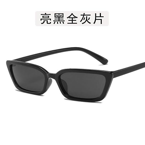 Yangjing-hl Gafas de Montura Grande Gafas Gafas de Sol de ...