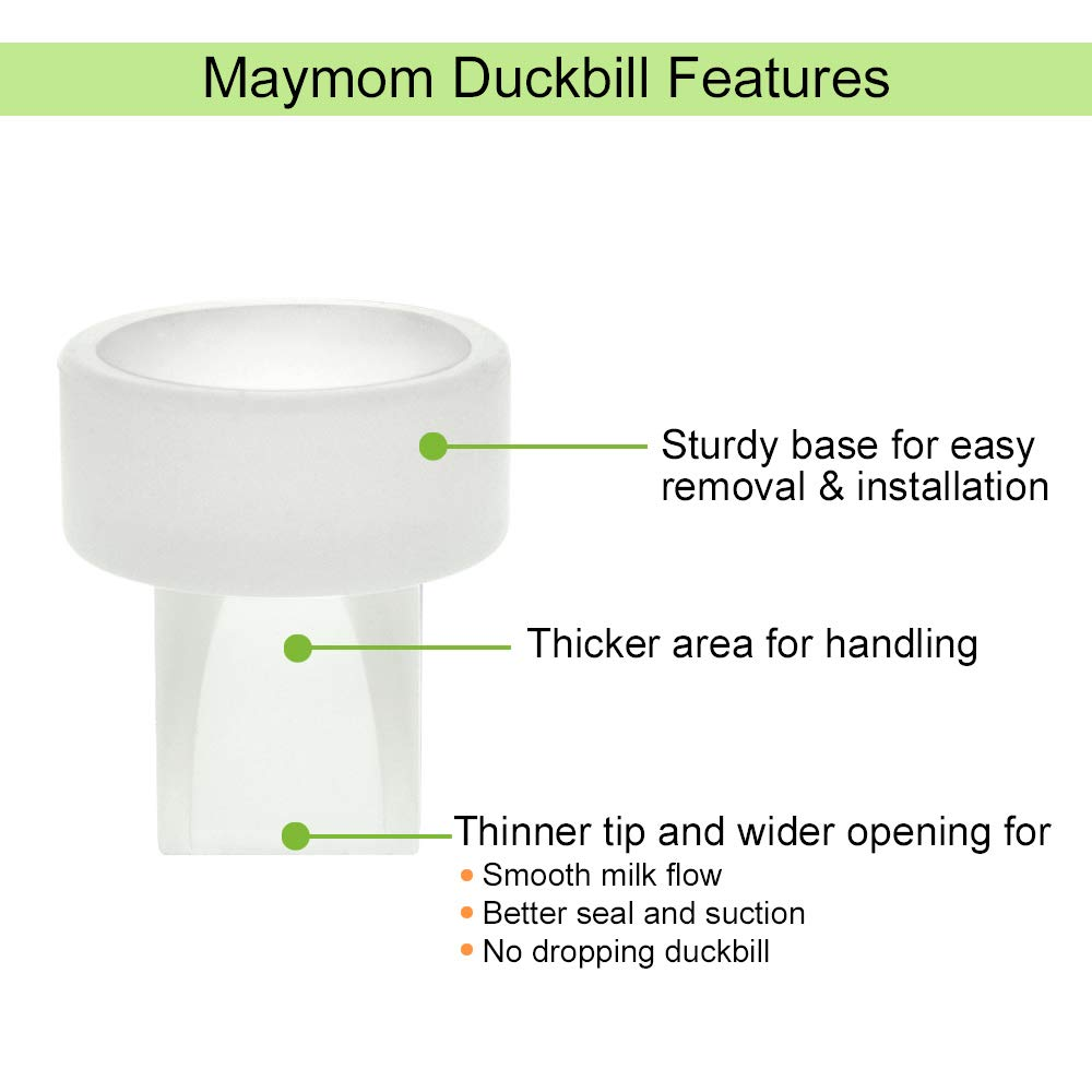 4 pc : Not for Freemie Closed System. Maymom Valve Replacements for Classic Freemie Collection Cups Replaces Freemie Duckbills or Freemie Valves.