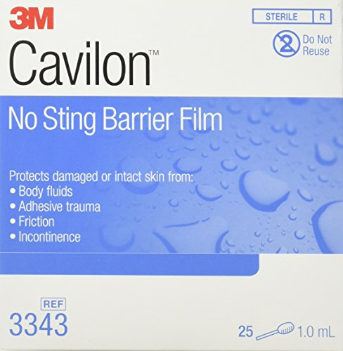 - 3m Cavilon No Sting Swabs, 25 per Box