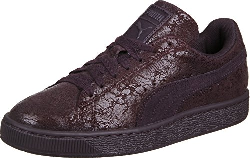 Puma Damen Suede Remaster Sneakers Purple