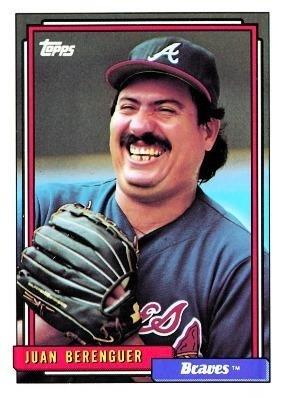 Amazoncom 1992 Topps Baseball Card 172 Juan Berenguer