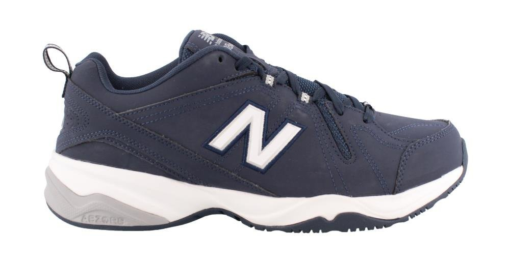 New Balance Men's MX608v4 Training Shoe B00LNOWONI 10.5 4E US|Navy/Grey