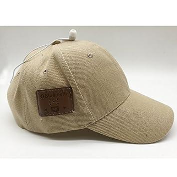 Casquillo de Auriculares inalámbrico Bluetooth Music Hat Sombrero de Música Inteligente Adecuado para Deportes al Aire