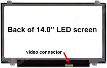 Substitute Only. Not a Boehydis Nt140whm-n41 Replacement LAPTOP LCD Screen 14.0 WXGA HD LED DIODE