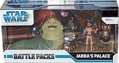 Star Wars The Clone Wars Jabbas Palace 3-3/4 Inch Scale Action Figure Battle Pack