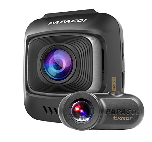 PAPAGO! GoSafe S780 1080p Full HD 60 FPS Dash Cam with Sony Starvis Image Sensor Ultra Wide Angle and 16GB Micro SD Card (GSS78016G) by PAPAGO