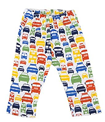 Zutano Pants- Colorful Cars, 12 Months