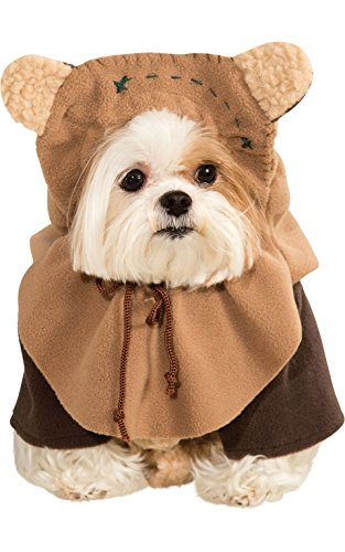 Rubie's Star Wars Collection Pet Costume, Large, Ewok ()