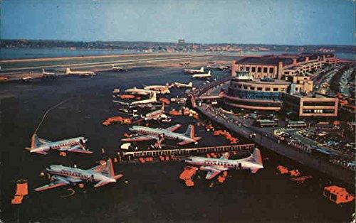 (La Guardia Airport New York, New York Original Vintage Postcard )
