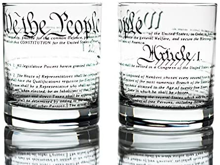 Greenline Goods Whiskey Glasses Constitution product image