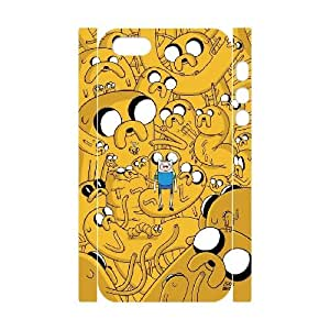 LTTcase Customised Personalised Jake and Finn Adventure Time 3D Case for iphone 5,5s