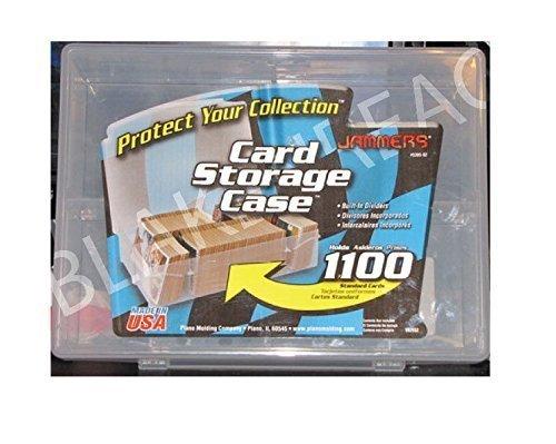Plano Trading Card Storage Case Box Jammers Holds 1100 Baseball Basketball Card Storage Plastic Box