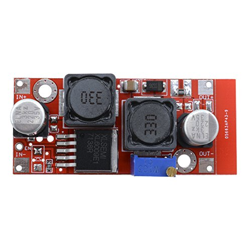 Aideepen XL6009 Boost Buck DC Adjustable Step Up Down Converter Module Solar ()