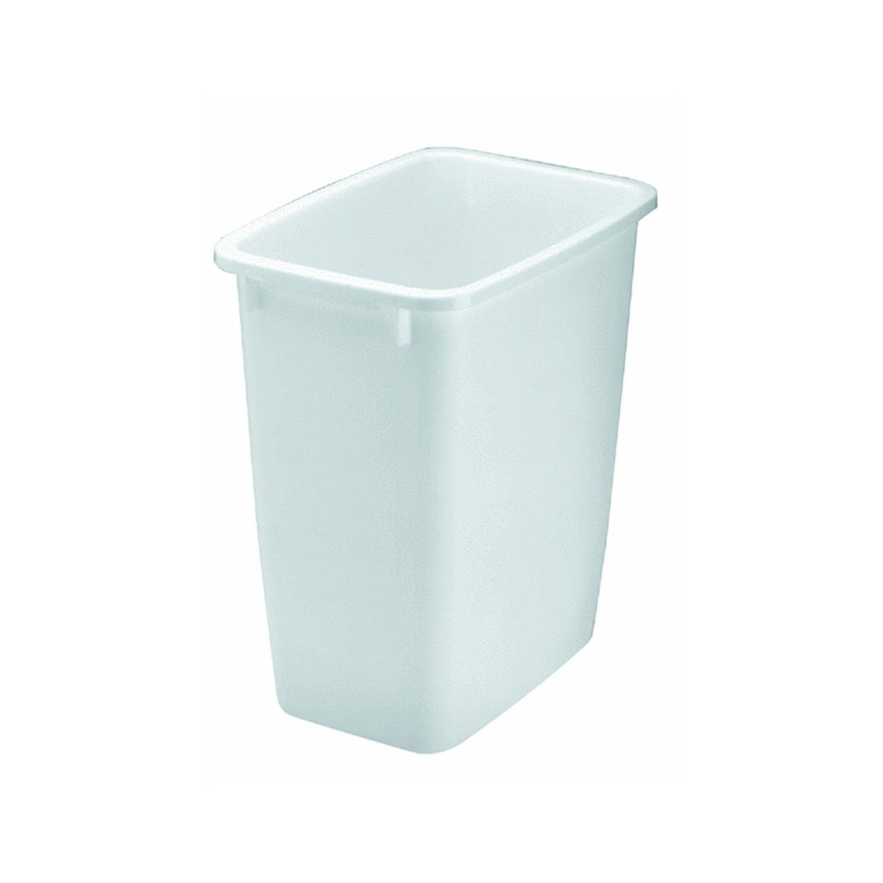 Amazon.com: 21 Quart Wastebasket in White: Home & Kitchen