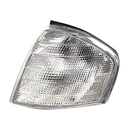 (Right Side Clear Lens Indicator Turn Signal Light Lamp Cover Replacement for W202 1994-2000)