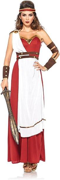El Carnaval Disfraz Mujer Romana Adulto: Amazon.es: Juguetes y ...