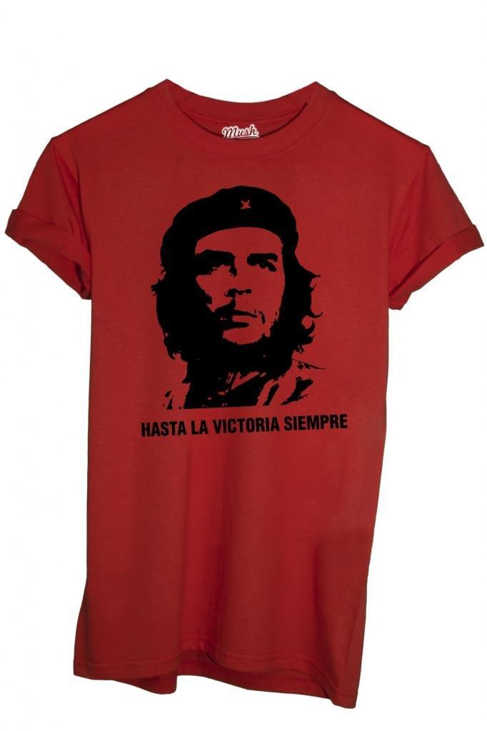 T-Shirt HASTA LA VICTORIA SIEMPRE CHE GUEVARA - POLITIC by iMage Dress Your Style imshT-IT-0264-parent