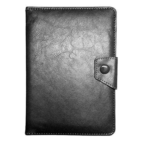 2010kharido Universal Soft Leather Smart Case Cover Stand for all 7 inch Tablet Black