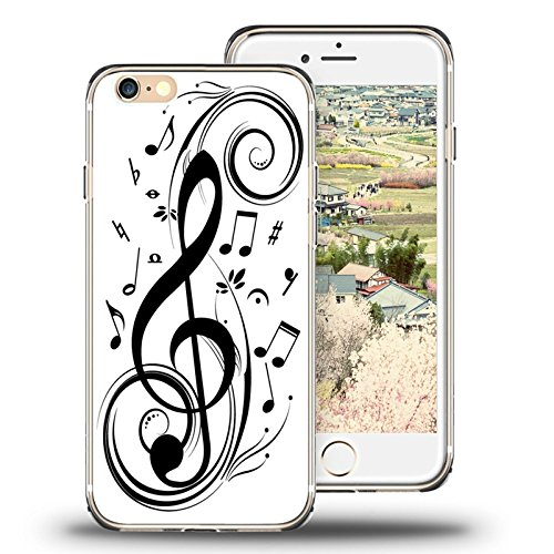 iPhone 6s Case, iPhone 6 Case Viwell TPU Soft Case Rubber Silicone Wonderful notes