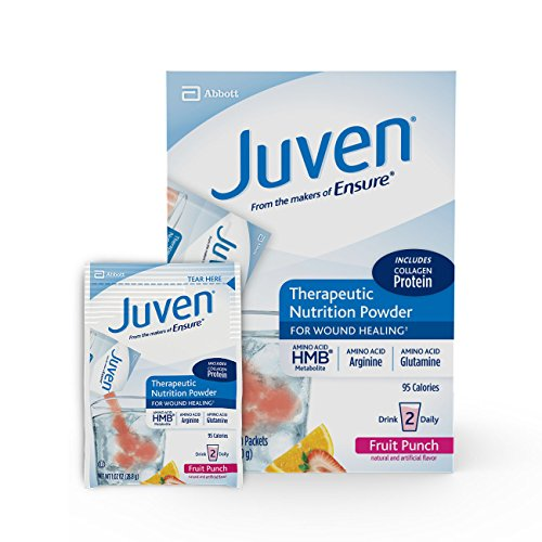 Juven Powder Fruit Punch / 1.02-oz (28.8 g) pouch / 6 x 8 ct