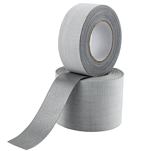 Safety Silver Reflective Fabric Tape DIY for Clohting Sew On 25mmx10m (1
