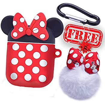 Amazon.com: Logee Big Dots Minnie Case for Apple Airpods 1