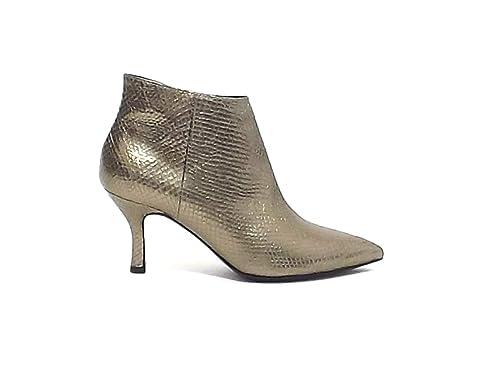 al por mayor online código promocional último clasificado Janet & Janet - Botas para Mujer Dorado Platino Dorado Size ...
